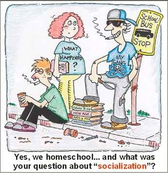 the socialization of a homeschooler Don't worry about socialization for your homeschool teen with a little outside the  box thinking opportunities for friendships abound.